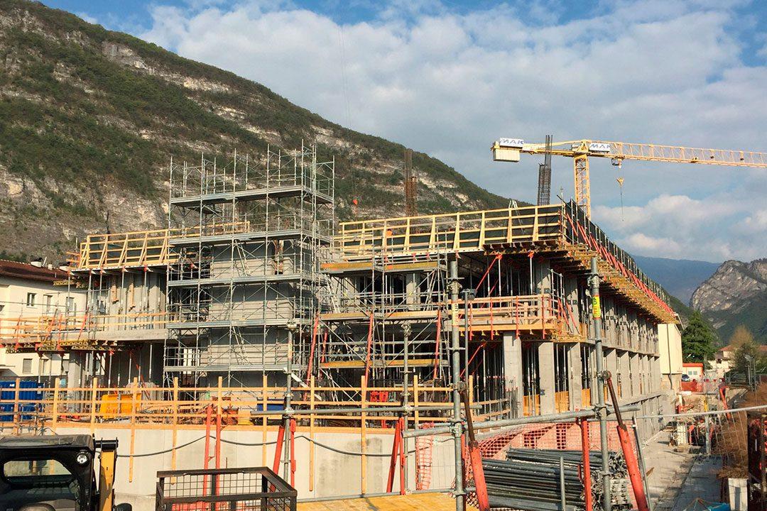Ricostruzione del nuovo Ospedale San Giovanni - Mezzolombardo