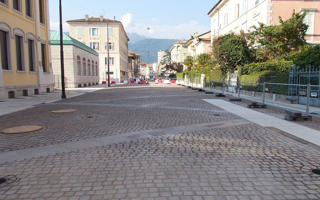 Riapertura via Dante a Rovereto