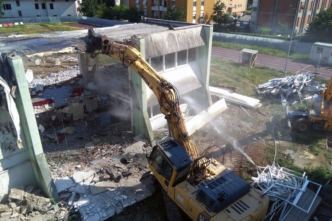 mezzocorona demolizioni